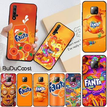 Slok Fanta Drink Orange Shell Phone Case for huawei honor 10i 8x 8 9 10 lite view 10 20 image