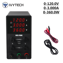 IVYTECH Newest Switching DC Laboratory Power Supply 120V 3A
