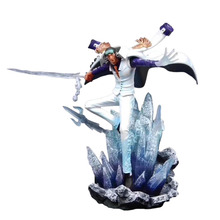 Big Size Anime One Piece Battle Pheasant Kuzan PVC Action Doll Collectible Model Baby Toy Christmas Gift For Children spawn 21 generation the big size model doll tv