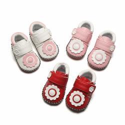 5 цветов для маленьких девочек дышащие цветочный узор анти-скольжение обувь Повседневные кроссовки для детей ясельного возраста, на мягкой