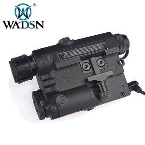 Image 4 - Wadsn uhpバージョンエアガンla 5 peq 15 レッドドットレーザーサイトled懐中電灯LA5 irレーザーpeq戦術softair狩猟武器ライト