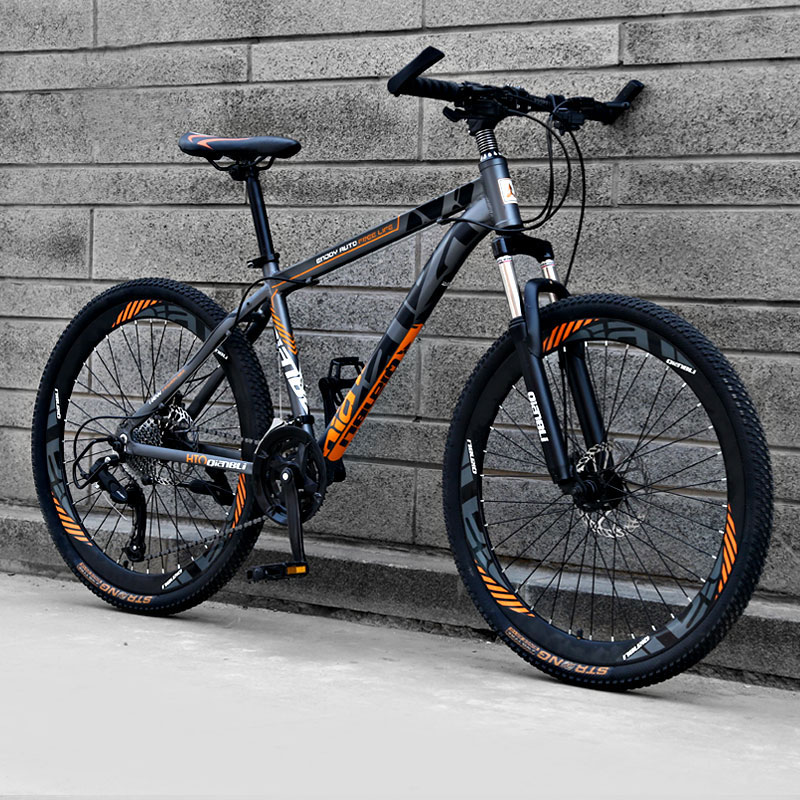 Mountain Bike 26 Inch Aluminum Alloy Variable Speed Off-road Double Disc Brake Adult Students Men And Women