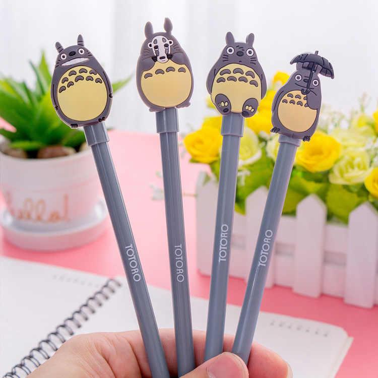 1 sztuk Kawaii szary kot długopis magia Pilot długopis szkolne materiały biurowe do pisania szkolne materiały papiernicze długopis