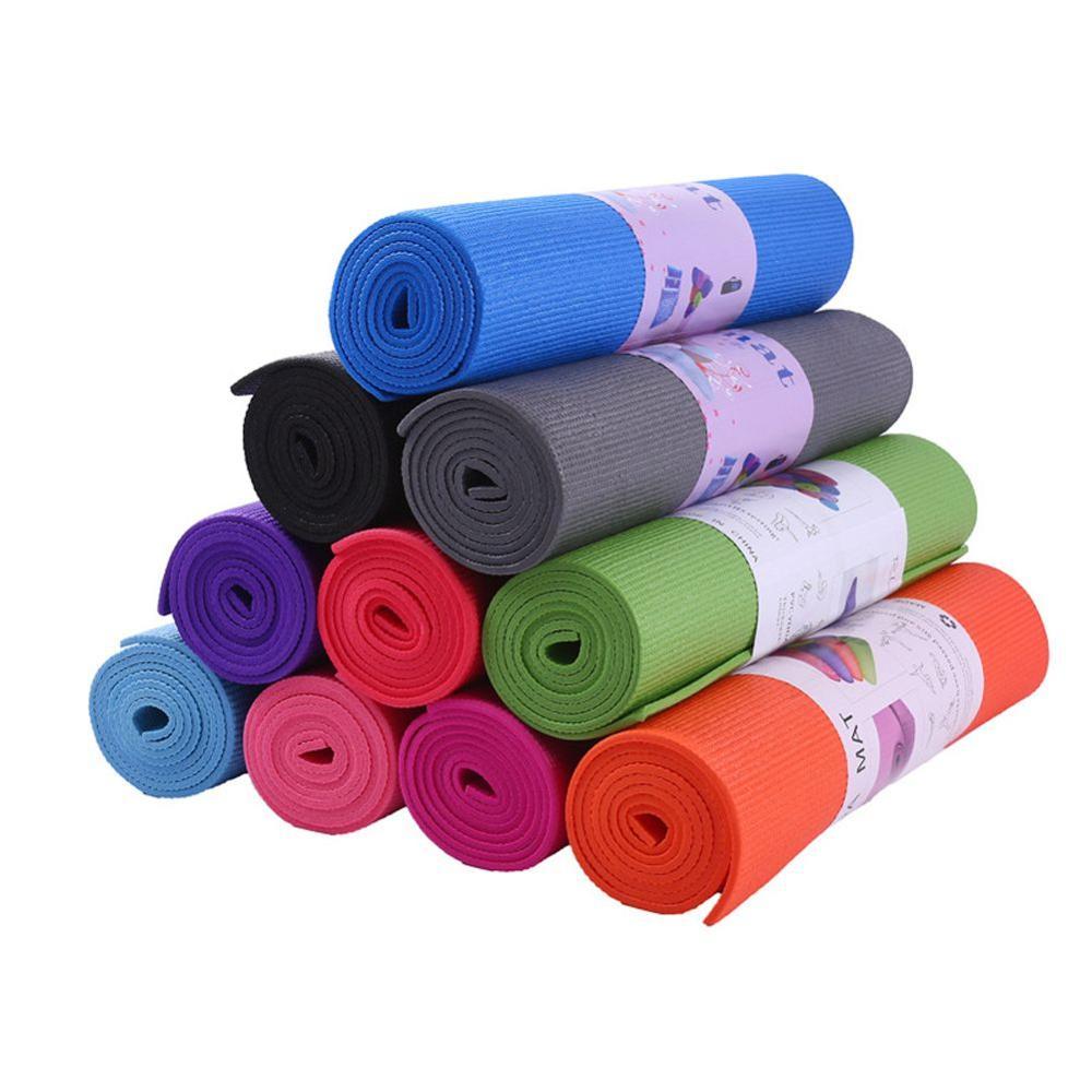 6mm EVA Yoga Mats Non-slip Foam Mat For Fitness Pilates Gym Sport Exercise Pads Eco-friendly Mattress Training Mat 173*60*0.6cm