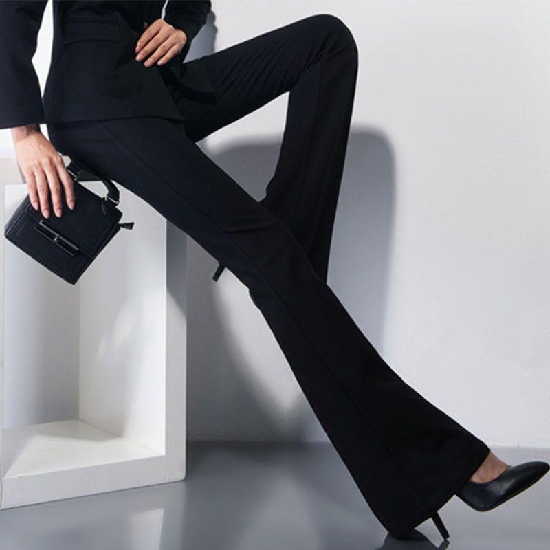 Muslim Fashion Ramadan Islam Office Lady OL Elastic Waist Flare Hem Pants Casual Turkey Kaftan Abaya Women Palazzo Pants