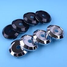 DWCX 4pcs 64mm OD 60mm ID Wheel Center Cap Rim Car Accessories Plastic Fit For PF01 Custom Ralliart RA04 JDM Wheels