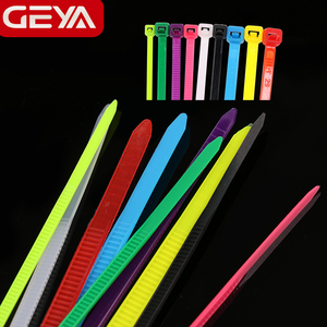 GEYA 2.5mm 3.6mm Self-locking Nylon Cable Ties Loop Wire Wrap Zip Ties Organizador Cables 100PCS White Color