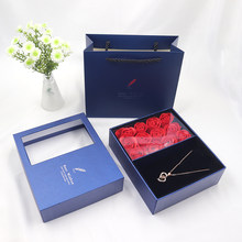 Lipstick Jewelry Box Gift Box Artificial Rose For Party Birthday Wedding Girlfriend Mothers Day Valentines Day Christmas Gifts