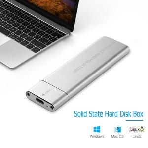 USB 3,1 Type-C M.2 NVMe SSD корпус 10 Гбит/с M-Key PCI-E твердотельный дисковый чехол HDD чехол с usb-кабелем Новый
