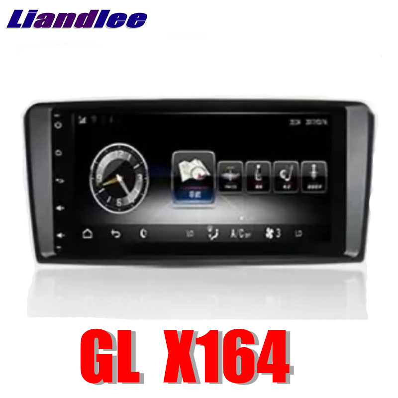 Liandlee Car Multimedia Player NAVI For Mercedes Benz <font><b>MB</b></font> GL <font><b>X164</b></font> 2005~2012 Comand NTG Car Radio Stereo GPS Navigation image