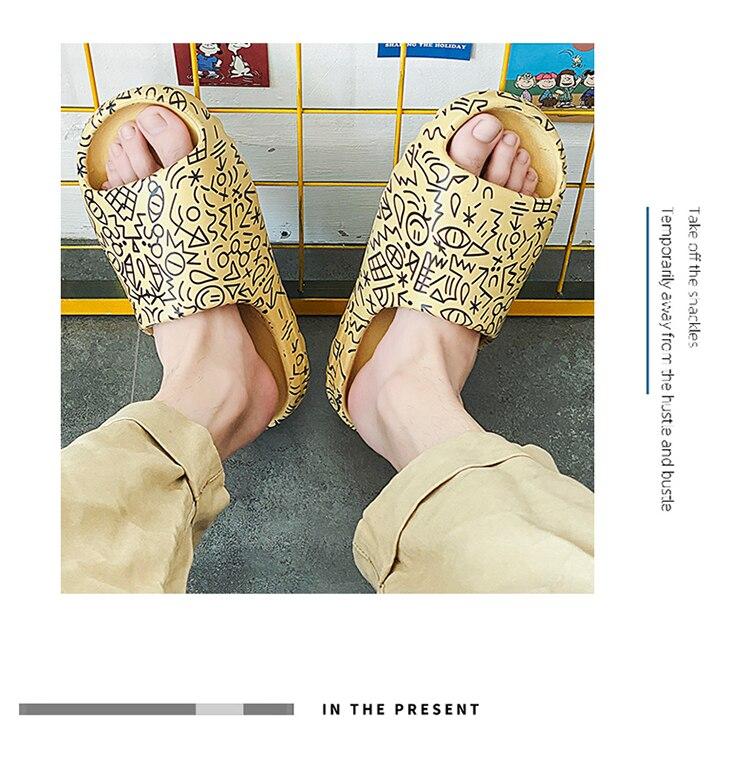 lazer praia chinelos eva dos desenhos animados sapatos zapato