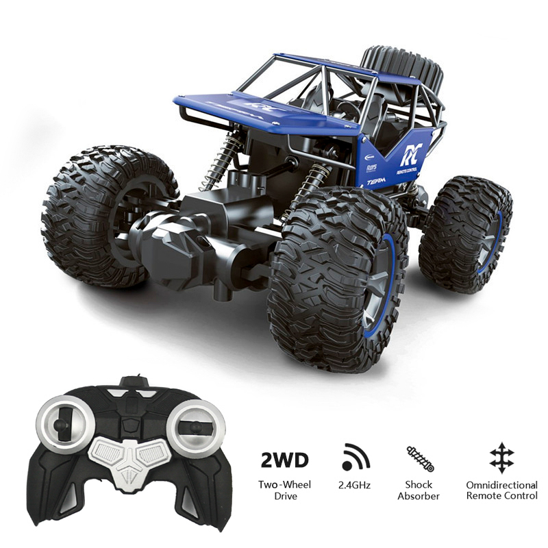 Radio-Controlled Car Panel Climbing Off-Road Remote Control Car RC Buggy 2.4GHz Climbing Car Bigfoot Car Model Off-Road Vehicle image