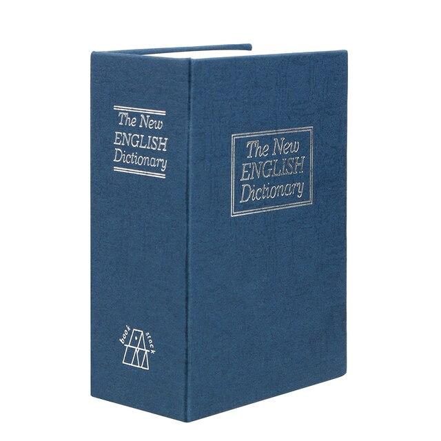Hucha Diccionario de Metal Azul