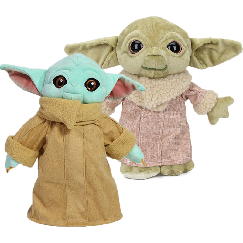5pcs 11.8inch Baby Yoda Plush Toys Soft Animals Stuffed Doll For Kids Ages 3 And Up Child Toy Yoda Character