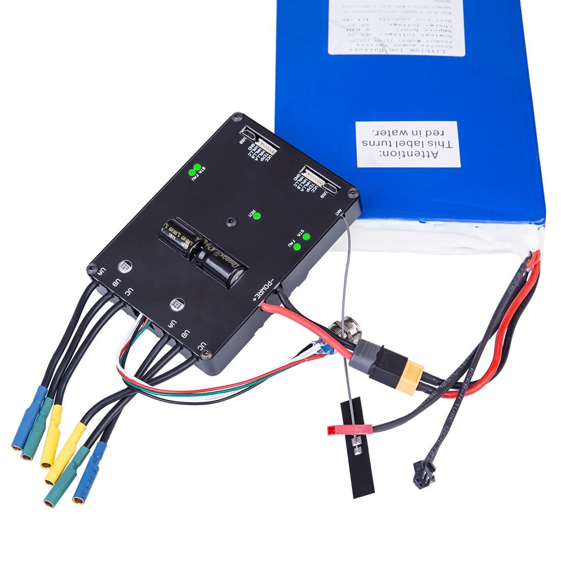 New ESC6.1 Dual Drive ESC 100A 8-60V 3S-12S Battery With Case