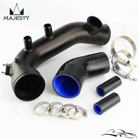 Intake Turbo Pipe Cooling Kit Fits For B**MW N54 E88 E90 E92 135i 335i Tial Flange