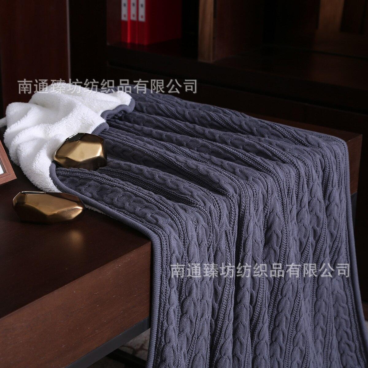 Весенне осеннее одеяло, кондиционер, одеяло, одеяла для кровати, меховое одеяло, вязаное одеяло, зимнее одеяло - 4