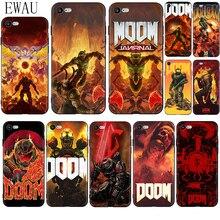 Phone-Case Doom Soft-Silicone for 12 Mini-X-Xr XS 11-Pro/max 5/5s/Se/.. Skull-Game EWAU