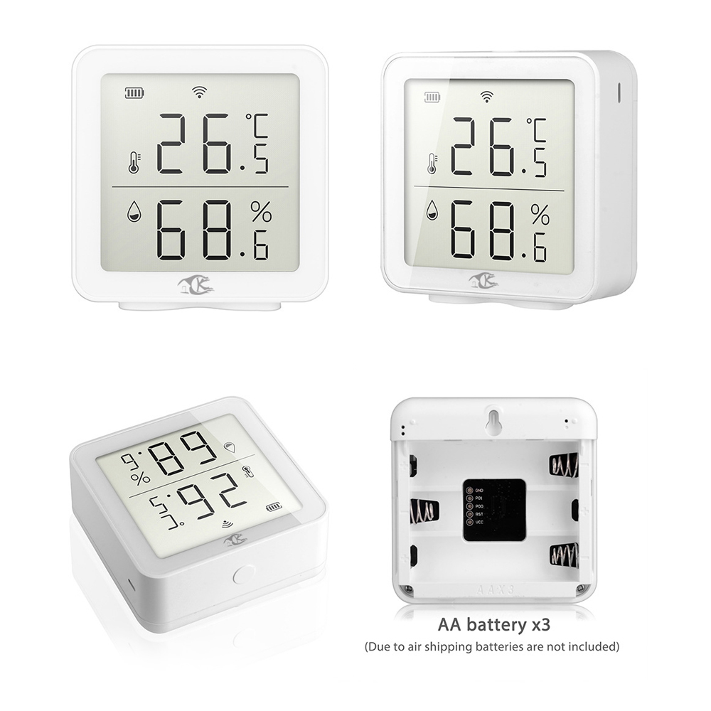 Wifi sensor de temperatura e umidade casa