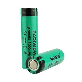Radiwow Rechargeable Battery AA INR18650/MN2000 3.7V 2*2000mah 2500mah 3000mah Rechargeable Battery