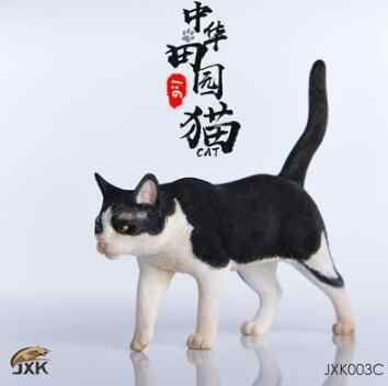 """1/6 resina modelo animal jxk. studio jxk003 1/6 gatos chineses 4 cores animal de estimação f 12 """"figura ação soldado"""