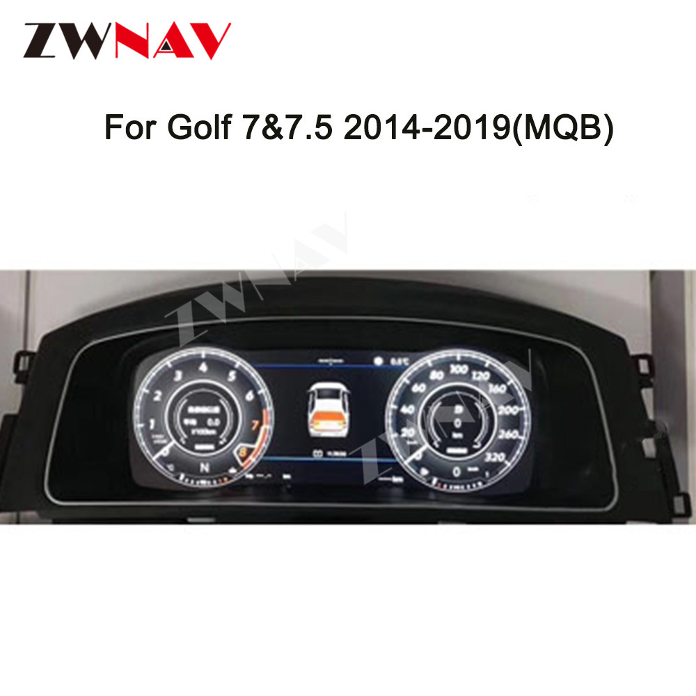 For VW B8 PASSAT CC <font><b>golf</b></font> 7 GTI Teramont Variant LCD Android Car Instrument Dashboard Display Head Unit GPS Navigation Multimedia image