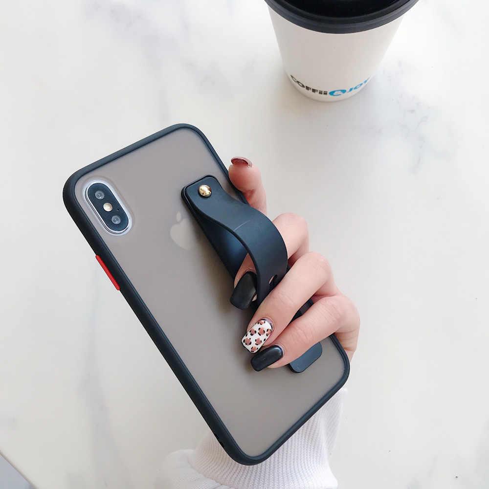Anti-Fall โทรศัพท์กรณีสำหรับ Samsung Galaxy A10 A10S A20 A30 A30S A50S A60 M10 M20 M30 M40 สายคล้องข้อมือผู้ถือ SHELL