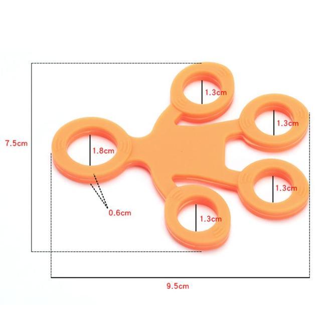 3 уровня ручной захват Силиконовое кольцо сопротивление руки браслет палец предплечье запястье обучение кистевой эспандер Фитнес оборудование