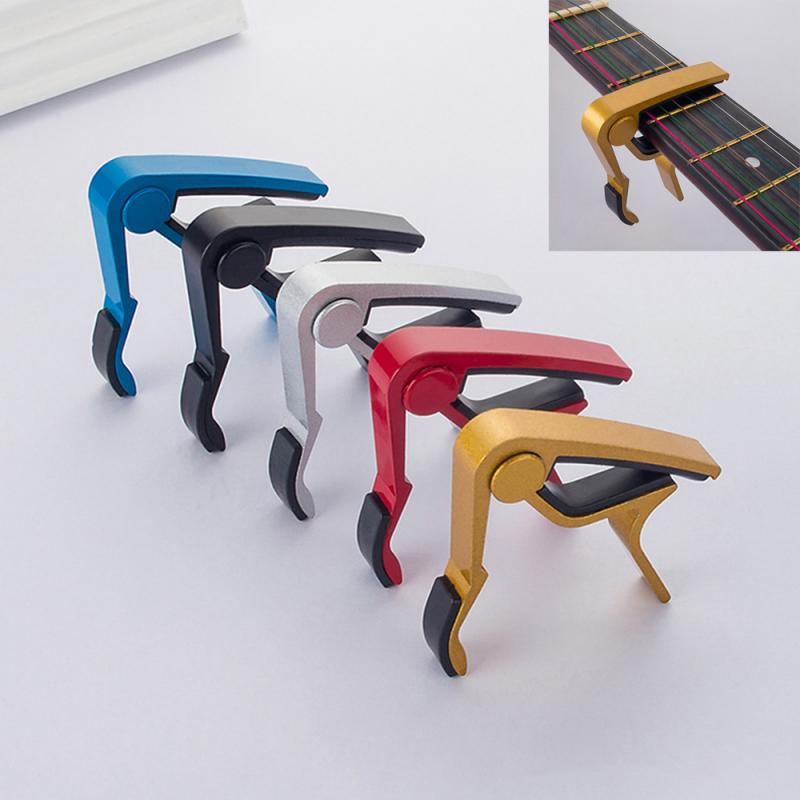 Aluminium Alloy Metal New Guitar Capo Quick Change Clamp Key Acoustic Classic Guitar Capo For Tone Adjusting High Quality