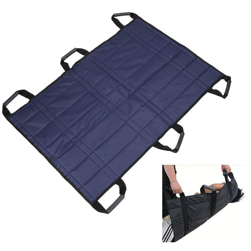 Patients Lifting Sling Belt Transfer Pad Protective Reinforced Sheet Medical Hospital Foldable Sliding Board Safety Nursing