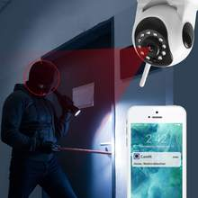 Loosafe HD 1080P Wireless IP Camera ONVIF H.264 Night Version Motion Detection 120° Home WIFI Baby Sleeping Monitor