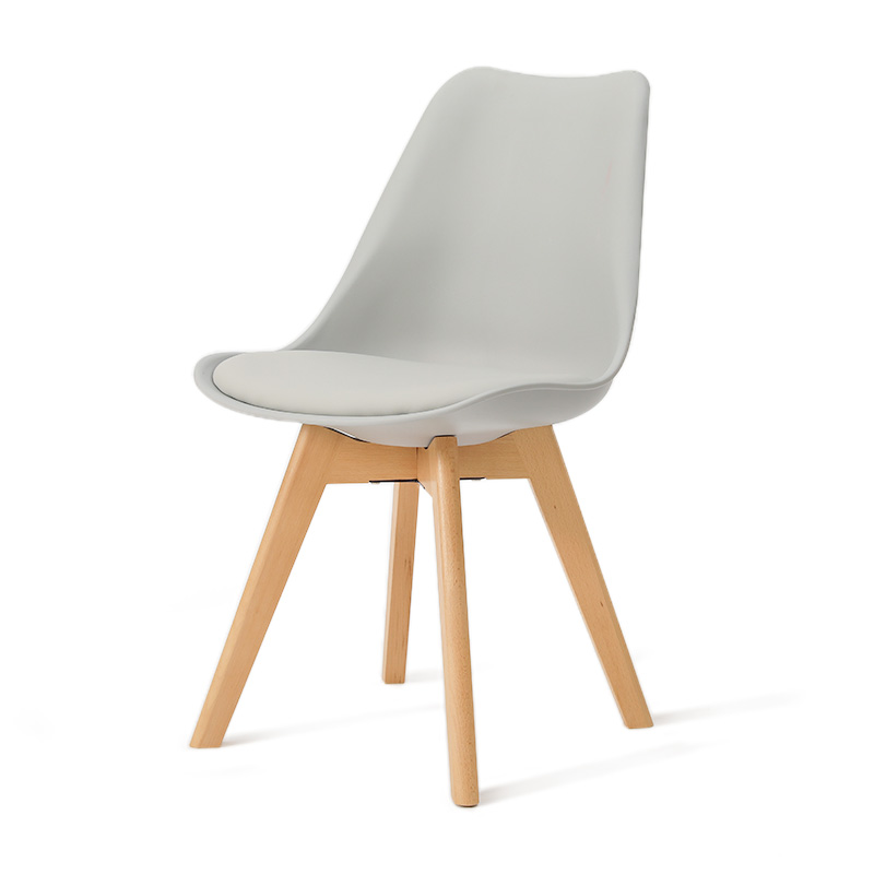 Nordic chair home simple solid wood dining chair coffee chair fashion cafe meeting negotiation table and chair