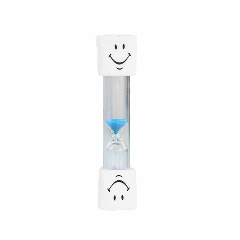 Lovely Smile Face Timer 3 Minute Teeth Toothbrush Brushing Timer Mini Smiling Face Hourglass Sand Clock Timer