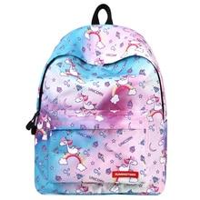 Cute Backpacks for Teenage Girls Junior School Bags Kids Unicorn Backpack Mochila Back Pack Bagpack Bag