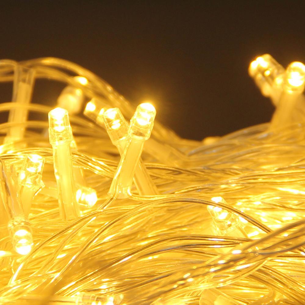220V LED Fairy Light Christmas Outdoor String Lights Garland 10M 20M 30M 50M 100M Waterproof Wedding Party Tree Holiday EU Lamp Pakistan