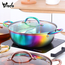Utensils Cooking-Pot Soup Home-Cookware Stainless-Steel Chinese Kitchen Single-Layer