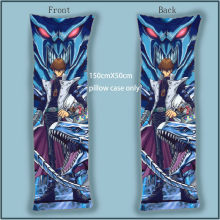 Dakimakura Body Pillow Case Cover Yugioh Yu Gi Oh DM Seto Kaiba anime decorative pillowcases double sides(China)