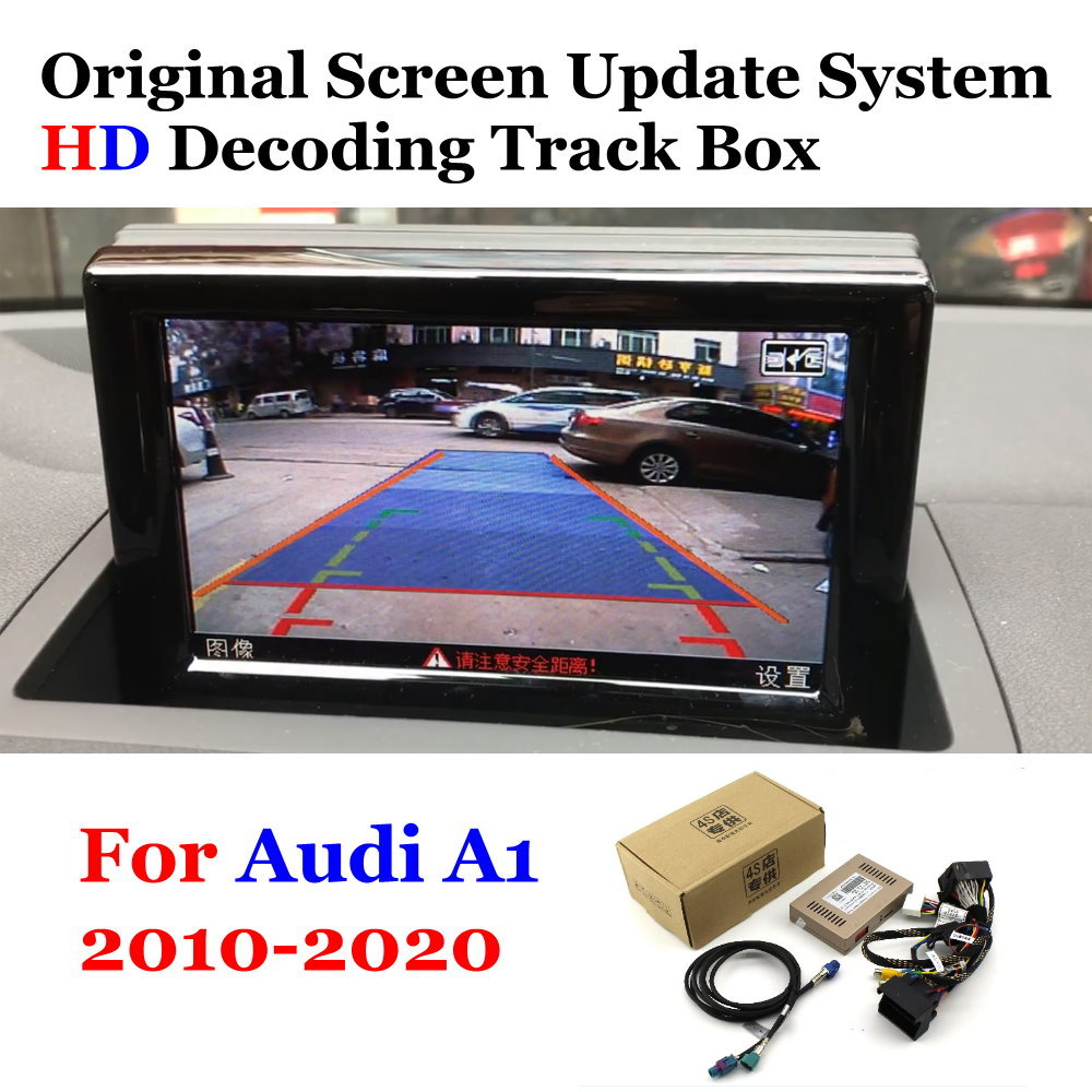 Rear Camera Original Screen Upgrade Display For Audi A1 2010-2012 2013 2014 2015 2016 2017 2018 2019 2020 Backup Camera Decoder image