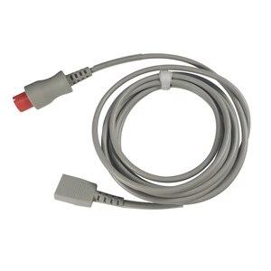 Инвазивный кабель для измерения кровяного давления IBP преобразователь адаптер кабель 6 Pin в Юту для Spacelabs Mindray Goldway монитор пациента