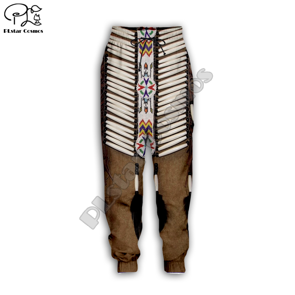 PLstar Cosmos Black Native Indian 3D Pant Men Women New Fashion Jogger Sport Pant Hot Style-7