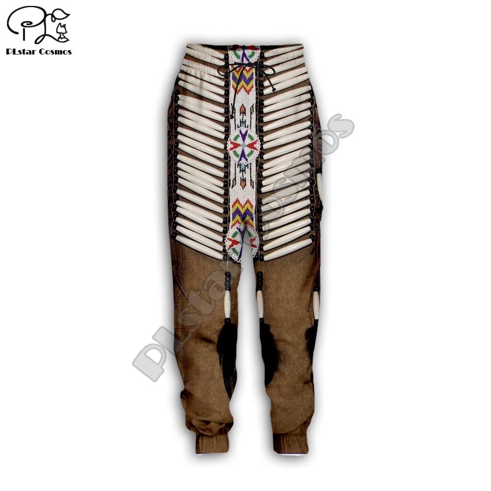 PLstar Cosmos Black Native Indian 3D Pant Men Women New Fashion Jogger Sport Pant Hot Style-7