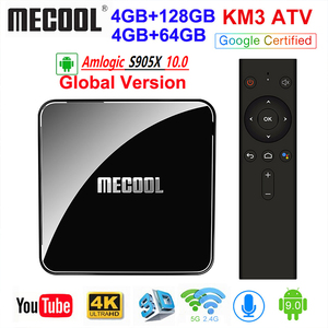 MECOOL KM3 Android 10.0 TV Box