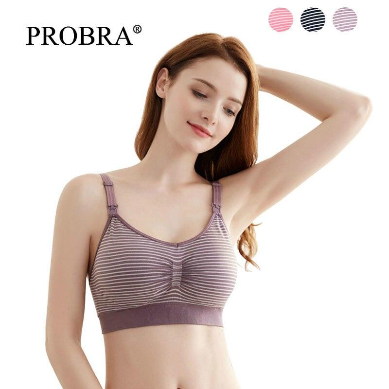 China Modal Cotton Nursing Bras - Pregnancy Clothes Breast Underwear Breastfeeding Bra For Feeding Soutien Gorge Allaitement Sui