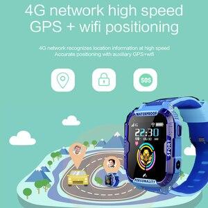 Image 5 - K22 4G لتحديد المواقع ساعة ذكية للأطفال IP68 مقاوم للماء واي فاي مكالمة فيديو كاميرا بمنبه الطفل الاطفال ساعة ذكية الهاتف الأطفال Smartwatch