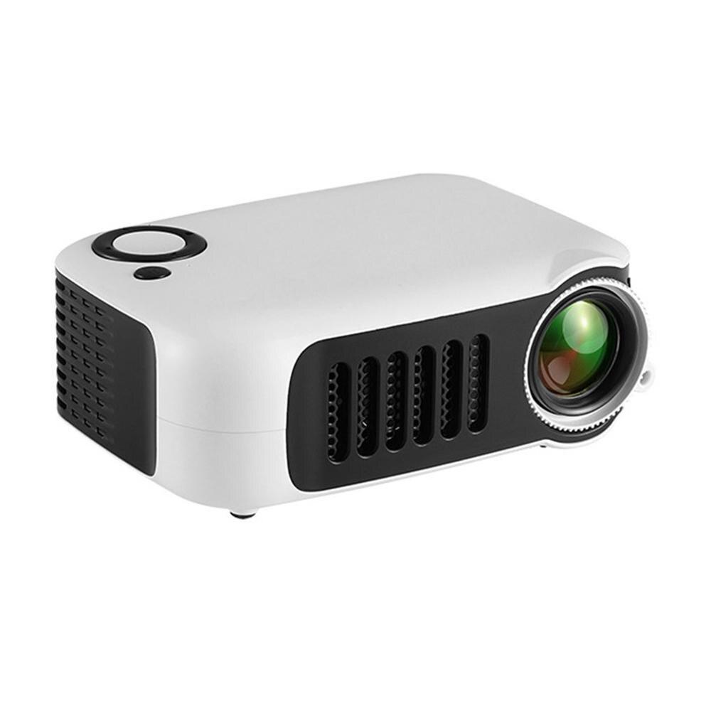 HD 1080P Мини Портативный карманный проектор кинопроекторы Домашний кинотеатр HDMI развлекательная проекция - Цвет: US Plug