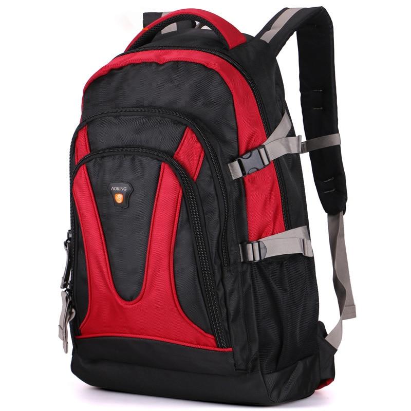 Capacity Multi-functional Backpack Mens Leisure Travel Outdoor Shoulder