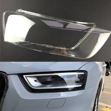 Для Audi Q3 2010 2011 2012 2013 налобный фонарь, крышка для автомобильных фар, сменный Прозрачный передний авто чехол