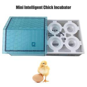 Image 5 - 30W מיני 7 ביצת חממת עופות חממה הוגה דיגיטלי טמפרטורת בקרת ביצת חממת האצ עוף ציפור ביצה