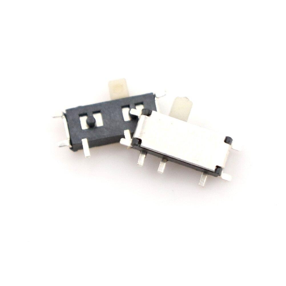 10/20/40 шт прерыватель ВКЛ-ВЫКЛ мини скользящий переключатель SS12d00 SK12D07 1P2T SS12D00G3 SS22F32