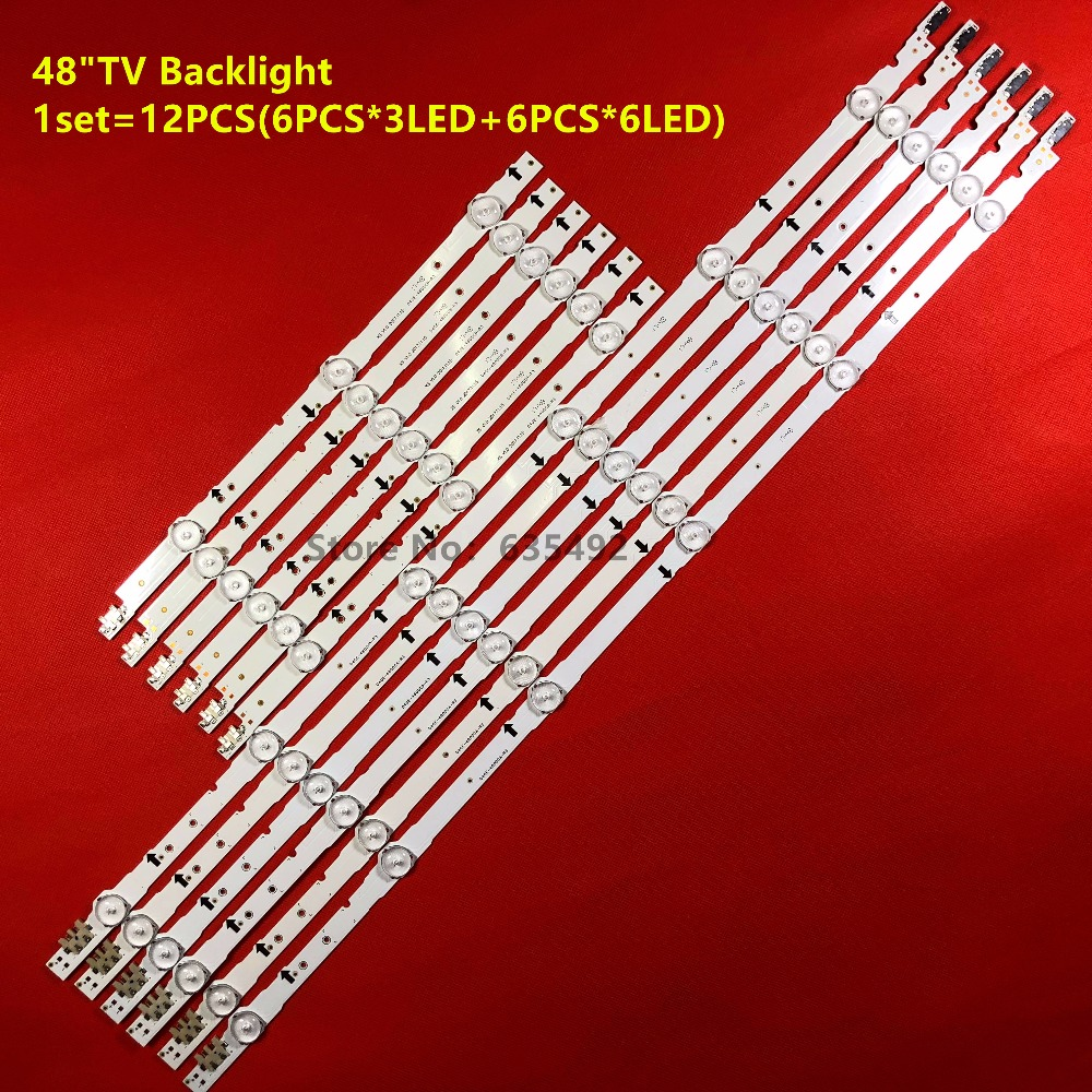 LED Backlight Strip For Ue48h6200 UE48H6240 CY-GH480BGLV1H GH048BGA-B2 GH048BGLV3H GH048BGLV2H GH048BGLV4H UA48H6300 UE48H5570